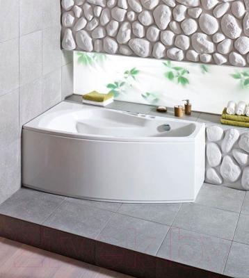 Ванна акриловая Santek Майорка XL 160х95 L Базовая Плюс (1WH112366)
