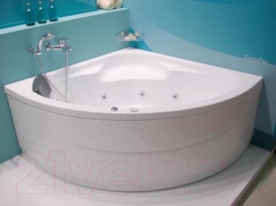 Ванна акриловая Santek Карибы 140x140 Комфорт (1WH112382)