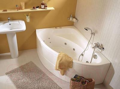 Ванна акриловая Santek Гоа 150x100 L Комфорт Плюс (1WH112408)