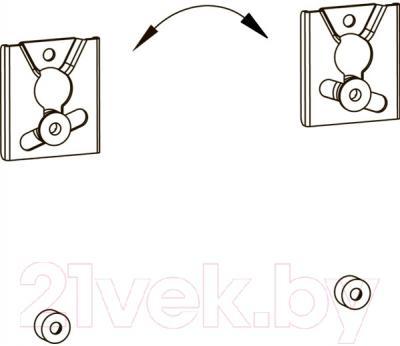 Кронштейн для телевизора Kromax Vega-2 (серый)