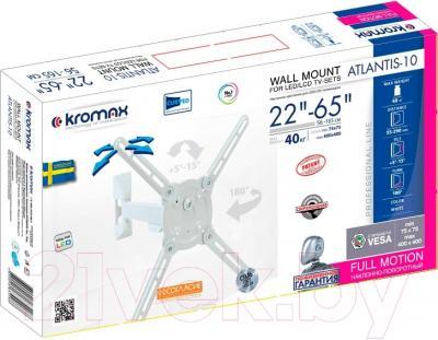 Кронштейн для телевизора Kromax Atlantis-10 (белый)