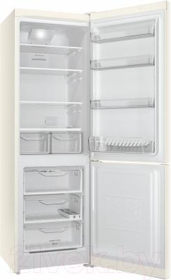 Холодильник с морозильником Indesit DF 5180 E