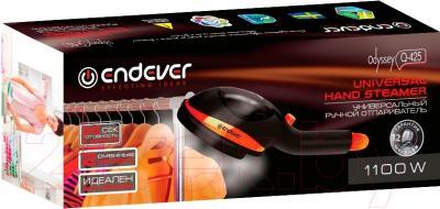 Отпариватель Endever Odyssey Q-425 (черный/оранжевый)