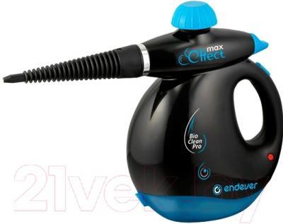 Пароочиститель Endever Odyssey Q-409 (черно-голубой)