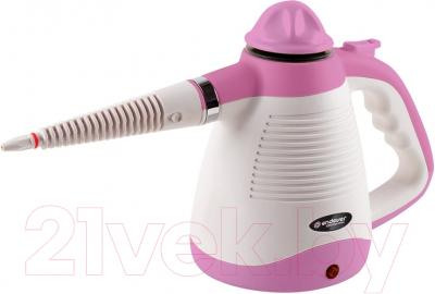 Пароочиститель Endever Odyssey Q-431 (белый/розовый)