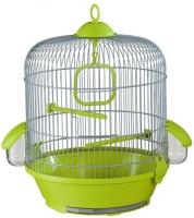 Клетка для птиц Voltrega 001716GP (серый/фисташковый) -