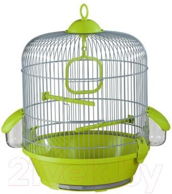 Клетка для птиц Voltrega 001716GP (серый/фисташковый)