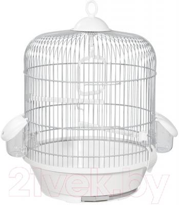 Клетка для птиц Voltrega 001716GB (серый/белый)