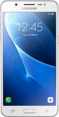 Смартфон Samsung Galaxy J5 (2016) / J510FN/DS (белый)
