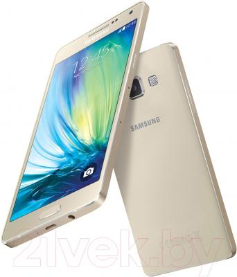 Смартфон Samsung Galaxy A5 / A500F/DS (золото)