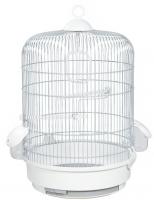 Клетка для птиц Voltrega 001736GB (серый/белый) -