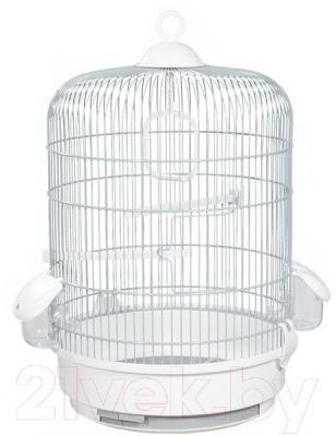Клетка для птиц Voltrega 001736GB (серый/белый)