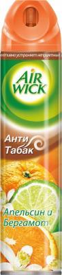 Освежитель воздуха Air Wick Антитабак. Апельсин и бергамот (240мл)