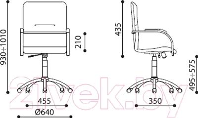 Кресло офисное Новый Стиль Samba GTP S (EV-12)
