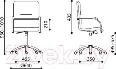 Кресло офисное Nowy Styl Samba GTP S (EV-02)