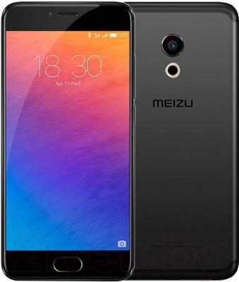 Смартфон Meizu Pro 6 (64GB, черный)