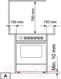 Кухонная плита Zigmund & Shtain VGG 37.93 X