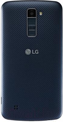 Смартфон LG K10 / K410 (черно-синий)