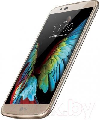 Смартфон LG K10 / K410 (сияющее золото)