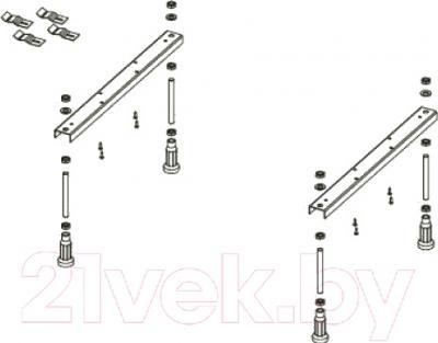 Ножки для ванны Excellent NWE-64 - схема