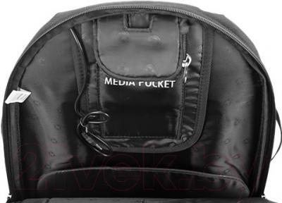 Рюкзак для ноутбука Continent BP-301 BK (черный)