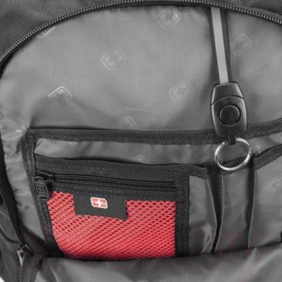 Рюкзак для ноутбука Continent BP-302 BK (черный)