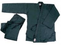 Кимоно для карате NoBrand KAR-BLACK-1 140 (черный) -