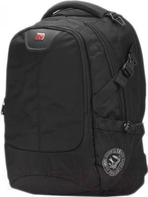 Рюкзак для ноутбука Continent BP-306 BK (черный)