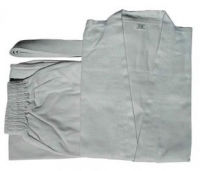 Кимоно для карате NoBrand KAR-3 160 (белый) -