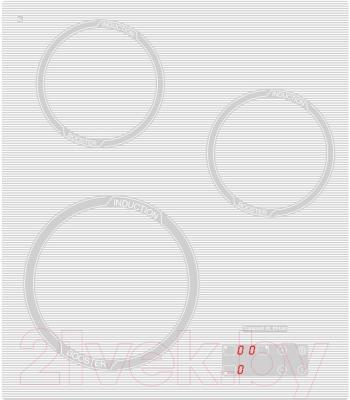 Индукционная варочная панель Zigmund & Shtain CIS 029.45 WX