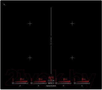 Индукционная варочная панель Zigmund & Shtain CIS 321.60 BX