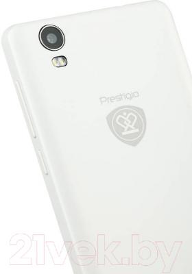 Смартфон Prestigio Muze A5 5502 Duo / PSP5502DUOWHITE (белый)
