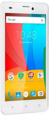Смартфон Prestigio Wize N3 3507 Duo / PSP3507DUOWHITE (белый)