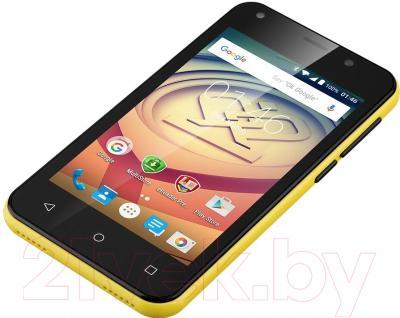 Смартфон Prestigio Wize L3 3403 Duo / PSP3403DUO (желтый)
