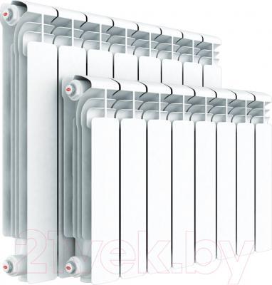 Радиатор алюминиевый Rifar Alum 350 (9 секций) - реальный вид товара может отличаться от представленного