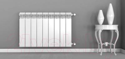 Радиатор алюминиевый Rifar Alum 350 (9 секций)