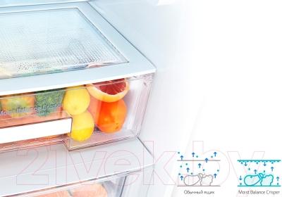 Холодильник с морозильником LG GA-B409SEQL