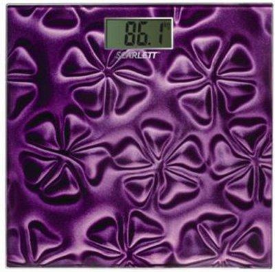 Напольные весы электронные Scarlett SC-2218 (Violet) - общий вид