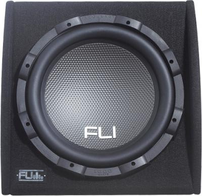 Корпусной активный сабвуфер FLI Underground FU 12A (FU12A-F1) - вид спереди