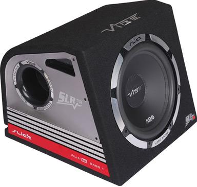 Корпусной активный сабвуфер VIBE audio SLR 12A - вид сбоку