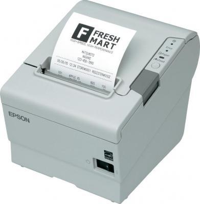 Чековый принтер Epson TM-T88V (C31CA85012) - общий вид