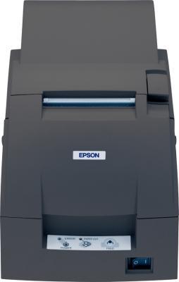 Чековый принтер Epson TM-U220D (C31C515052) - фронтальный вид