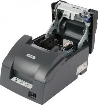 Чековый принтер Epson TM-U220PD (C31C518052) - изнутри