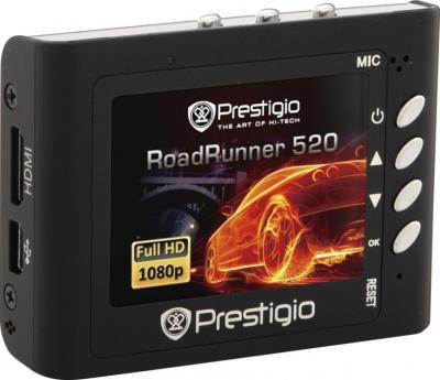 Автомобильный видеорегистратор Prestigio RoadRunner 520GPS (PCDVRR520GPS) - дисплей