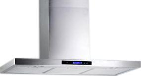 Вытяжка Т-образная Aisen 198KI-1 900 LCD Sensor - общий вид