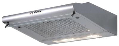 Вытяжка плоская Exiteq Standard 601 (нержавеющая сталь) - общий вид