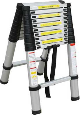 Телескопическая лестница Kirk K-068300 - общий вид