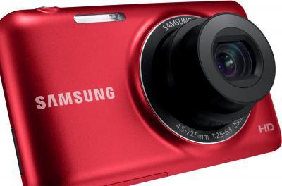 Компактный фотоаппарат Samsung ES95 Red (EC-ES95ZZBPRRU) - общий вид