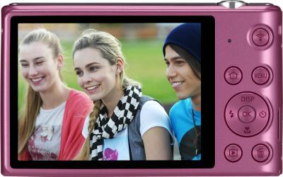 Компактный фотоаппарат Samsung ST150F Pink (EC-ST150FBPPRU) - вид сзади