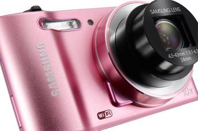 Компактный фотоаппарат Samsung WB30F Pink (EC-WB30FZBPPRU) - общий вид